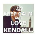 keep calm and amor kendall