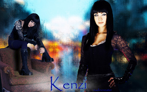 Lost Girl wallpaper possibly containing an outerwear titled kenzi wallpaper