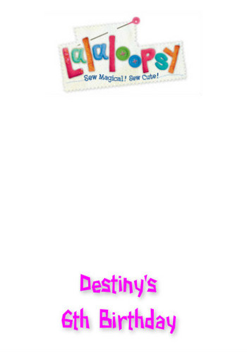 lalaloopsy Back cover