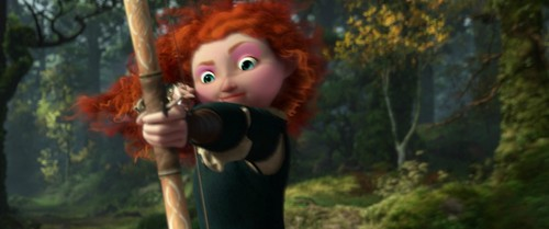 Disney Princess achtergrond called merida's epic look