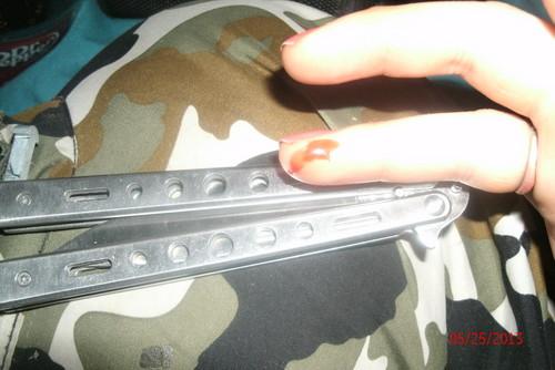 my تیتلی چھری nikkie cut me lol