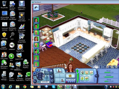 our family as sims