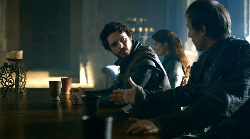 robb and cat with edmure