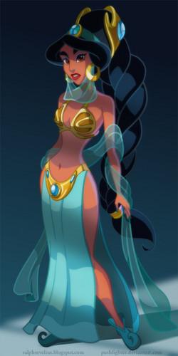 slave princess жасмин