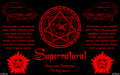 supernatural devils trap - supernatural wallpaper