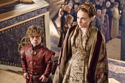 tyrion and sansa