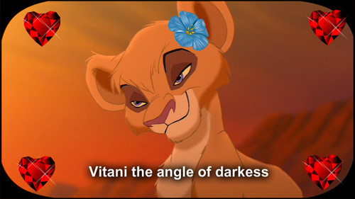 the lion king 2 simba's pride wallpaper called vitani is angle of darkness