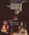 your last love.  - klaus-and-caroline fan art