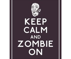 Zombies wallpaper titled zombie Keep calms