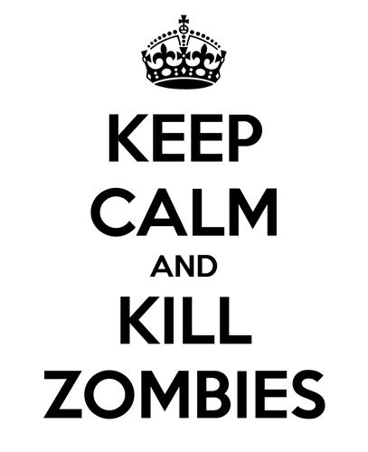 Zombies wallpaper called zombie Keep calms