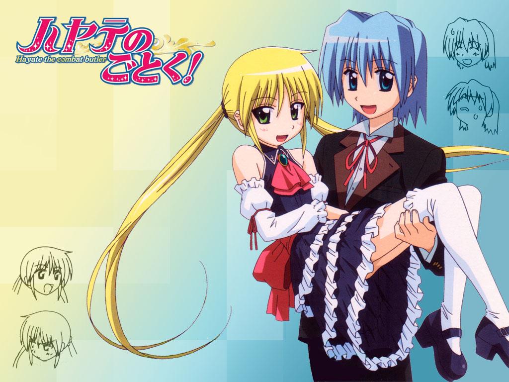 Kawaii Anime Images Nagi Hayate HD Wallpaper And Background Photos