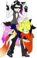 .:Pile of Morons:. --Gift - sonic-fan-characters photo
