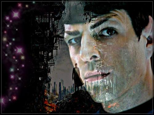 ★ estrella Trek Into Darkness ~ Spock ☆