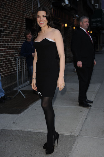 """The Late 表示する With David Letterman"" arrivals 2010"