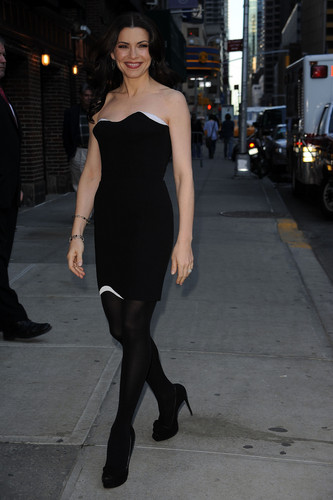 """The Late Show With David Letterman"" arrivals 2010"