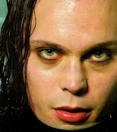 Ville Valo fond d'écran containing a portrait titled Ville <3