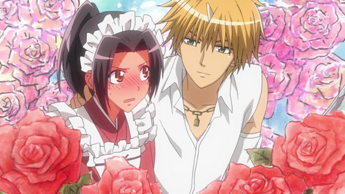 Kawaii Anime wallpaper with anime titled ♥¸.•*´¯)*•usui x misaki.¸.•´¯`♡