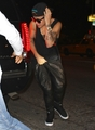 05.29.2013 Justin spotted with friends partying in New York