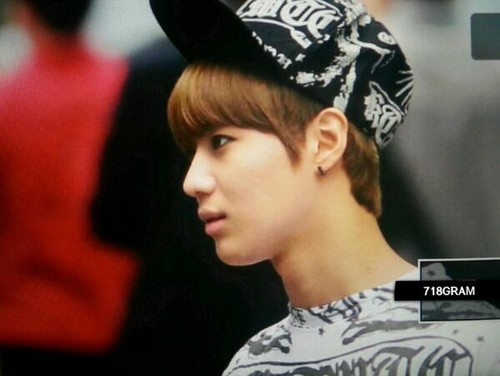 130607 Taemin on the way to Music Bank for Henry Trap