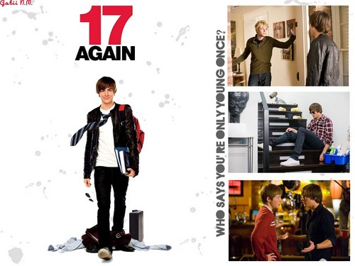 17 again Hintergrund containing a well dressed person and a business suit titled 17 Again!