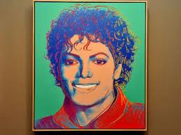 1984 Andy Warhol Painting Of Michael Jackson