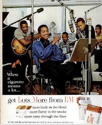 A Vintage Sam Cooke Promo Ad For L&M Cigarettes