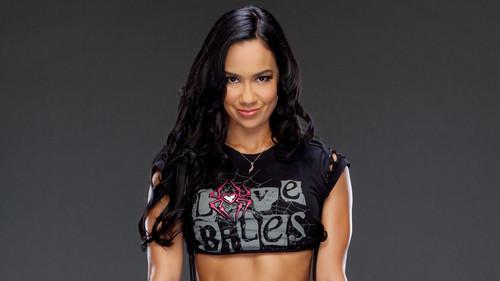 WWE Divas achtergrond called AJ Lee