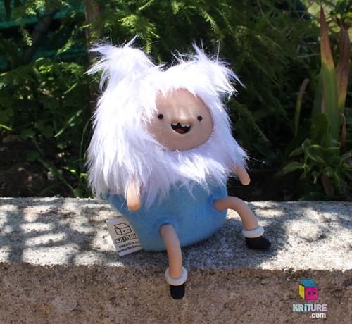 Adventure Time Finn the Human Soft Kriture - Handmade Plush Softie polymer clay Squeaky toy tagahanga art