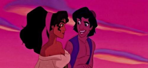 Aladdin/Esmeralda