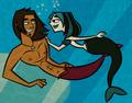 Alegwen mermaids - total-drama-island fan art