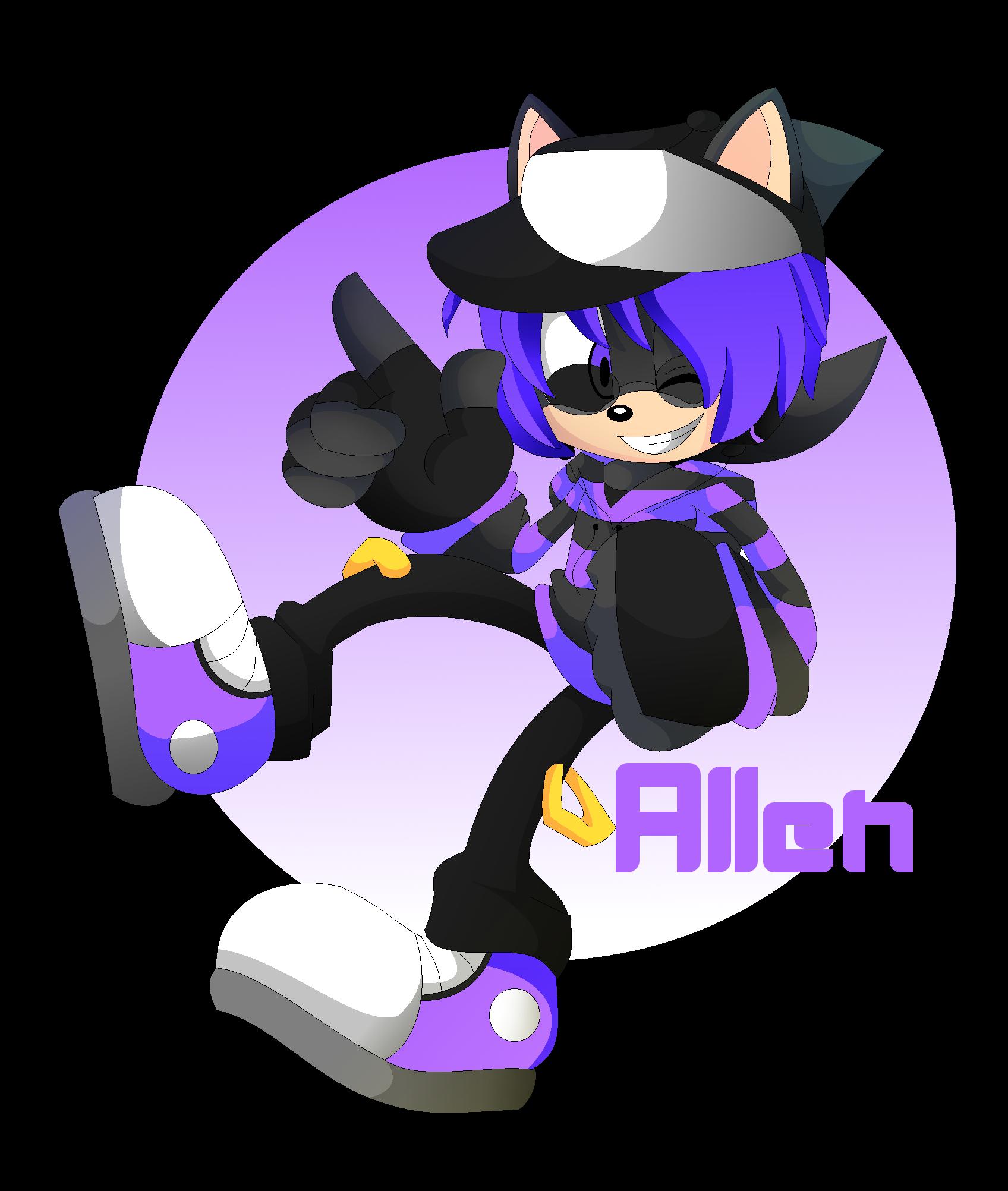 Allen the hedgehog sonic fan characters photo 34685668 fanpop