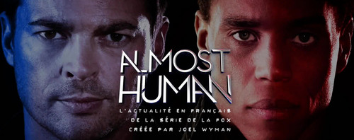 Almost Human wolpeyper entitled Almost Human