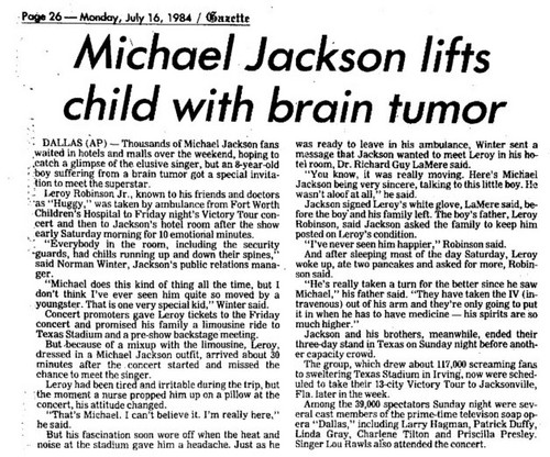 An Article Pertaining To Michael