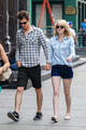 Andrew Garfield and Emma Stone Take a Walk in Manhattan - emma-stone photo