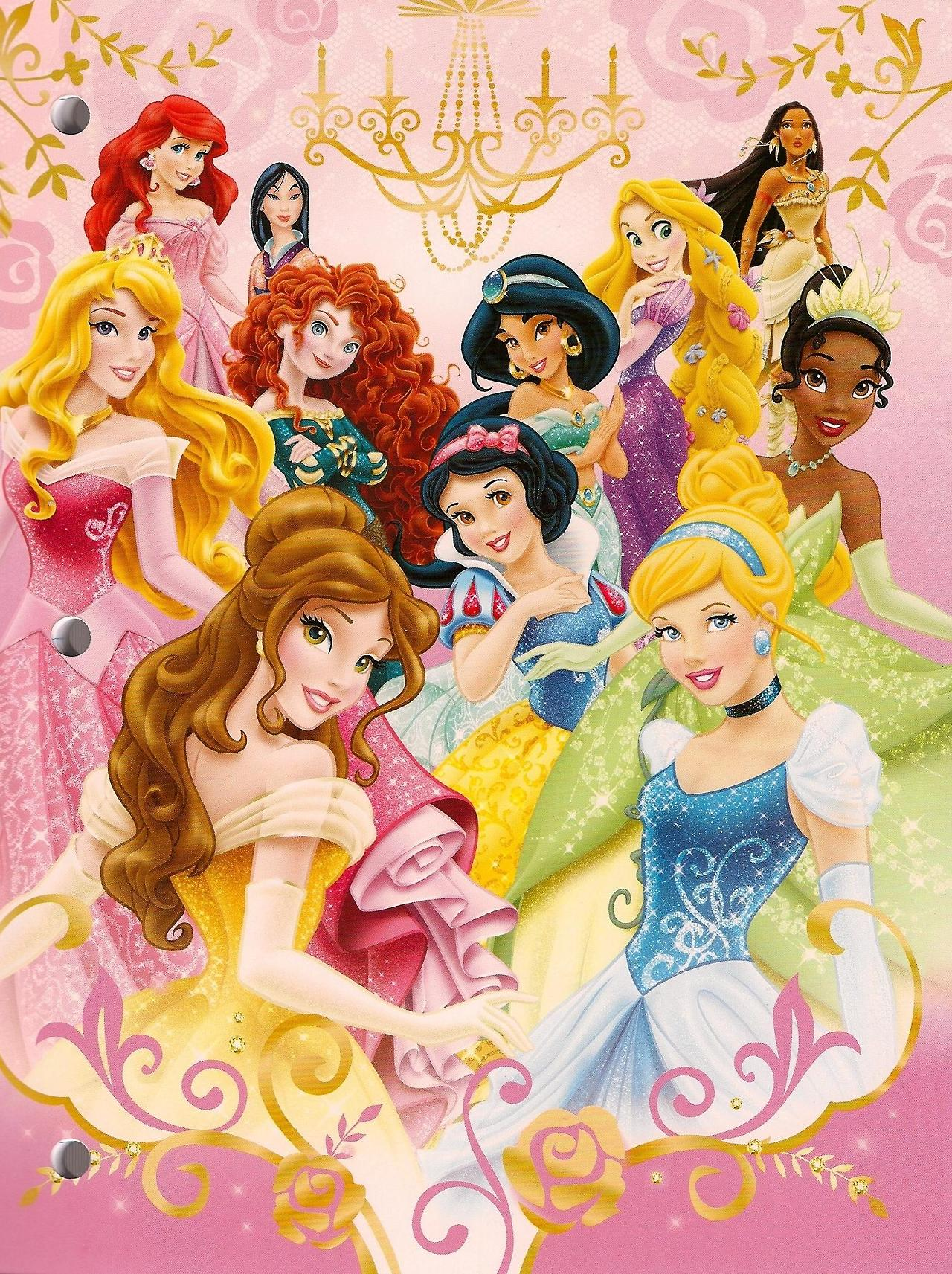 Disney Princess Group Pic