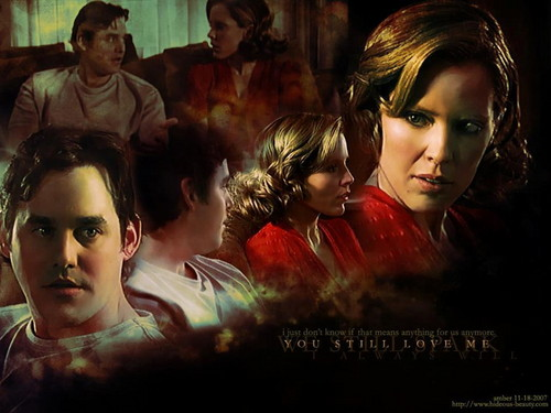 Buffy the Vampire Slayer wallpaper with a portrait entitled Anya & Xander