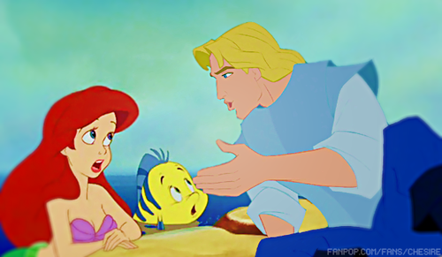 disney crossover fondo de pantalla probably containing anime entitled Ariel/John Smith
