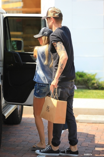 Ashley & Chris out in Malibu