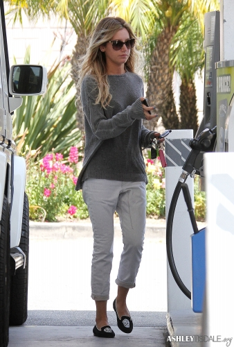 Ashley out in Hollywood