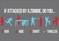 Attacked By a Zombie... - zombies photo