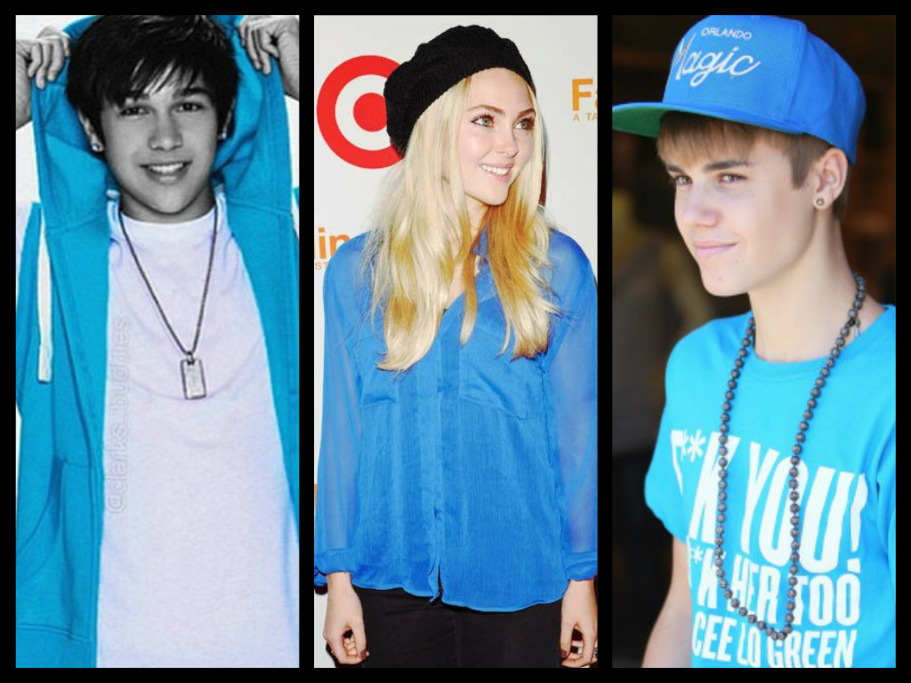 Austin Mahone, AnnaSophia Robb and Justin Bieber