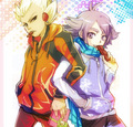 Axel & Shawn - inazuma-eleven photo