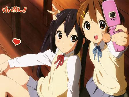 Azu-nyan & Yui-chan