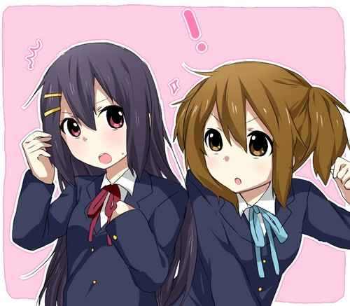 Azusa and Yui: Hairstyle Switch