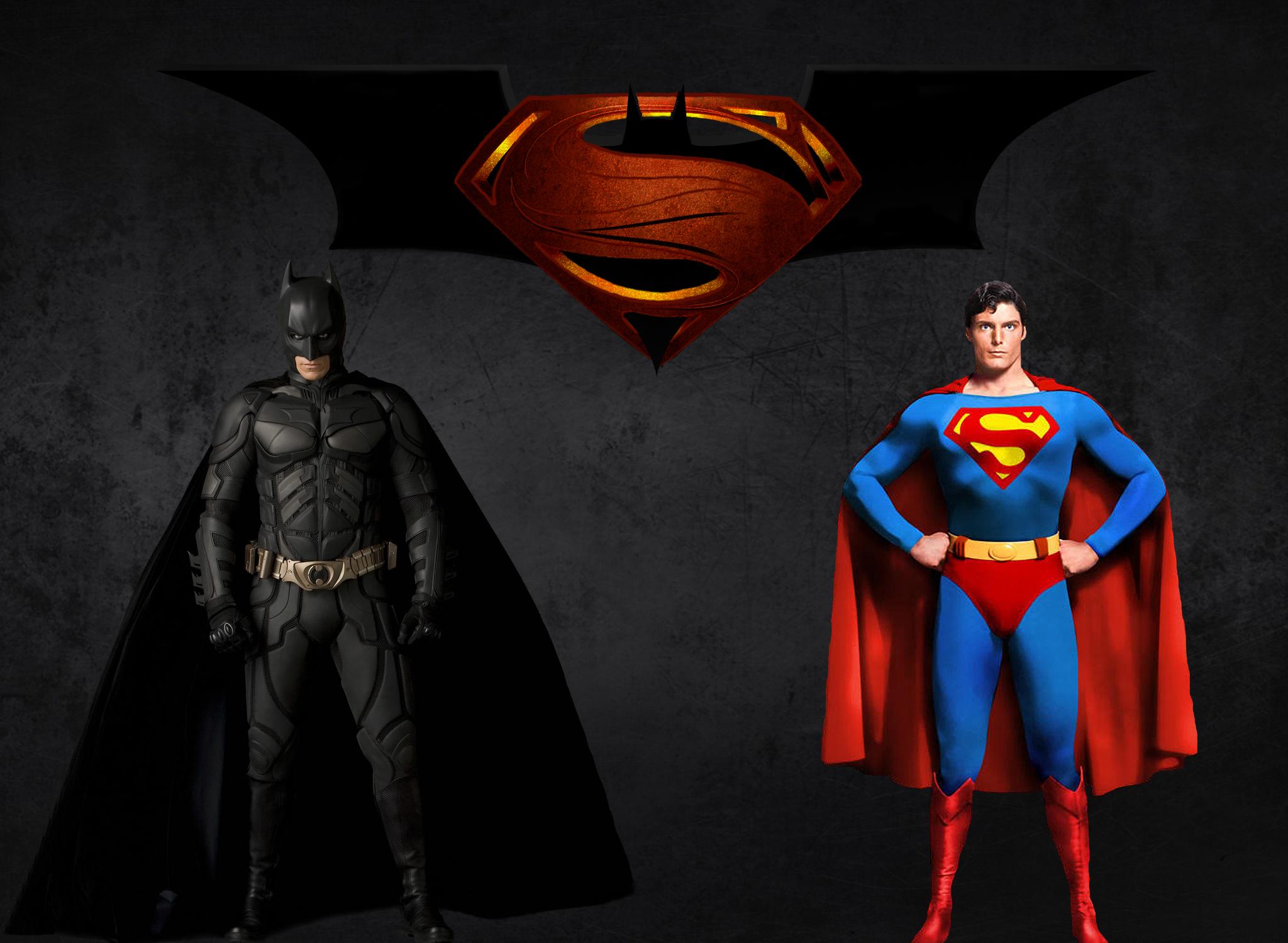 バットマンとスーパーマンの壁紙