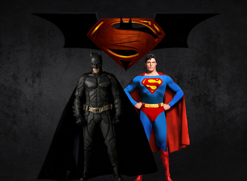 Batman wallpaper titled BATMAN AND SUPERMAN