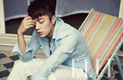 BEAST Doo Joon - Elle Magazine June Issue '13