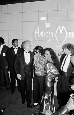 Backstage At The 1984 American Musica Awards
