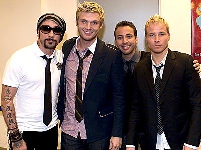 The Backstreet Boys 바탕화면 with a business suit entitled Backstreet boys