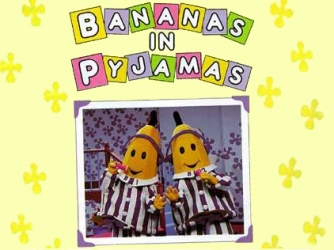 Memorable TV wallpaper containing anime entitled Banana's in Pyjama's
